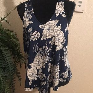 NWT flowers tops